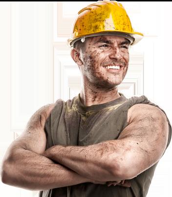 demir bauarbeiter kabelverleger industriemontage